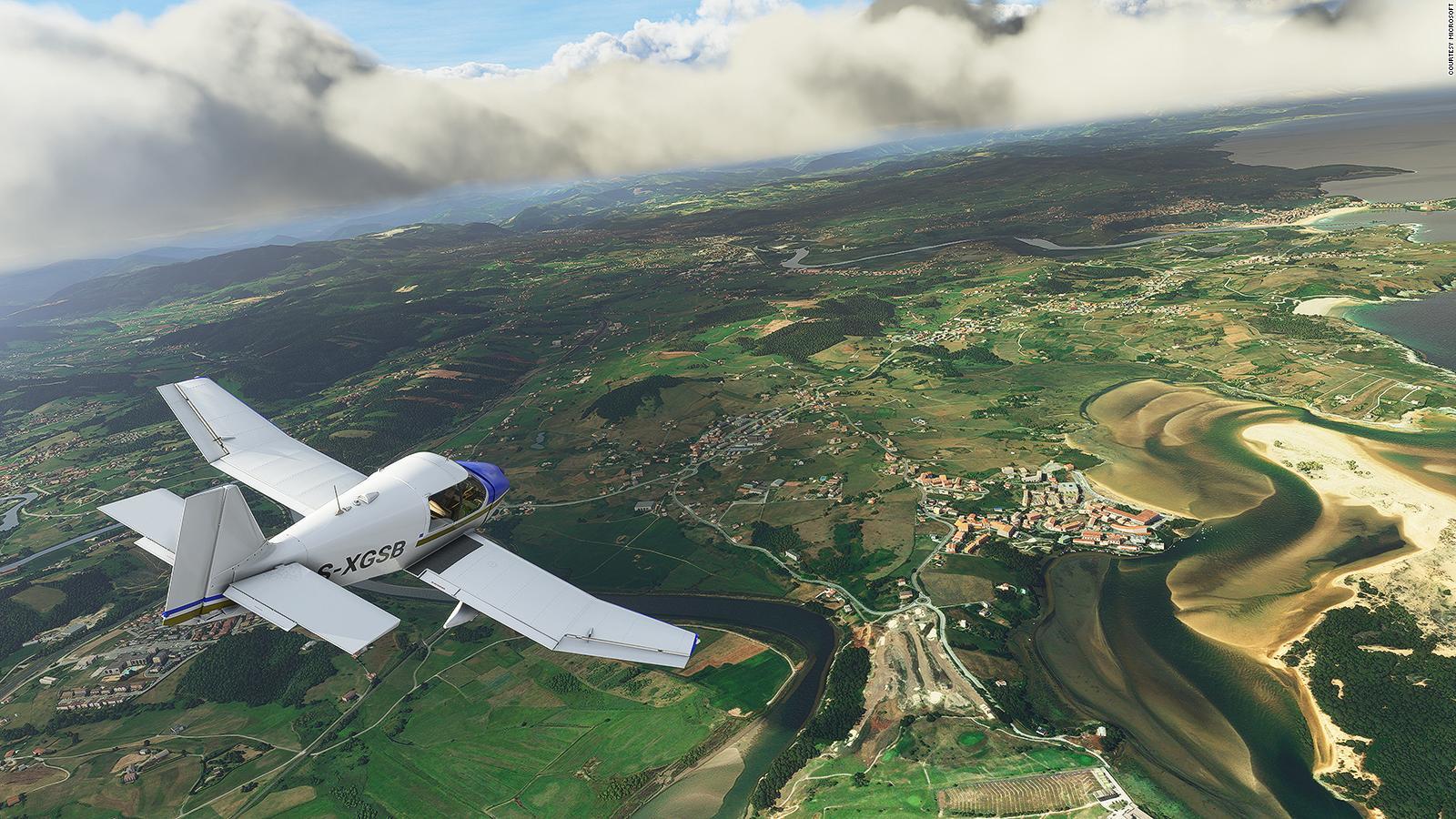 MICROSOFT FLIGHT SIMULATOR WILL TAKE 150GB OF DISK SPACE