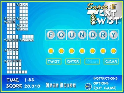 Text Twist Game